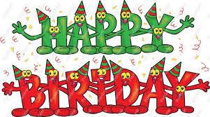 Moving clipart happy birthday 3