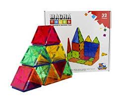 buy flying start magna tiles 32 pcs magnetic building blocks