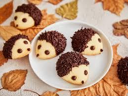 igel kekse einfaches rezept zum selbermachen