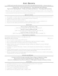 Math Teacher Resume Sample Cover Letter For High School