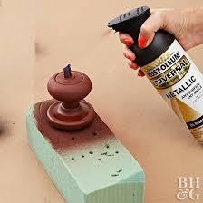 How To Update Door Hardware with Paint