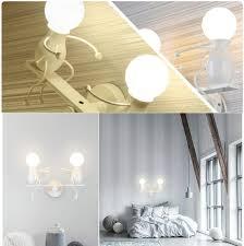schlafzimmer fsth eisen kreative wandleuchte retro wand