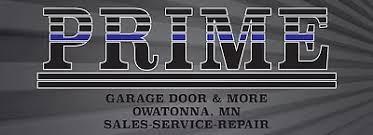 Prime Garage Door does Installs repairs & more in Owatonna MN