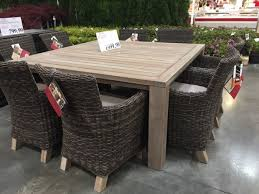 Bjs Outdoor Furniture Cushions by Home Design Trendy Patio Dining Sets Costco Stunning Target Teak