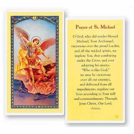 Prayer to ST Michael