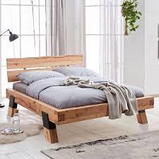 elfo möbel schöne futonliege aus rustik buche massivholz mit