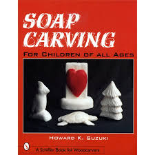soap carving for children of all ages wood carving books