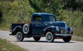 Photos Ford Trucks 1941 Deluxe Pickup Vintage Auto 3840x2400