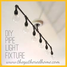 Pipe Light Fixture By The Gathered Home Brynne Delerson