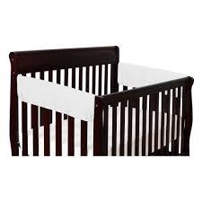 Baby Cache Heritage Double Dresser by Crib Guard Rail Minky Crib Teething Rail Guard Long Rail Crib