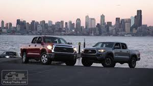 2018 Toyota Tundra Vs. 2018 Toyota Tacoma — PickUpTrucks.com - YouTube Toyota Tundra Tacoma Trucks Fargo Nd Truck Dealer Corwin Toyota Tundra Customized 2103 Texas Heatwave Show 192 Custom Lifted 4x4 Rocky Ridge The Ak47 Of Pickup Trucks Japanese Sports Cars 2018 Nada Are Cool But Nothing Wrong With Bed Rack Active Cargo System For Long 2016 Wikipedia Get The Scoop On 2019 Trd Pro Lineup Redesign Diesel Rumors News Release Date Love That Stance Tacoma Rugged Midsize Returns With New Design 1983 Sr5 Pickup Mirage Limited Edition