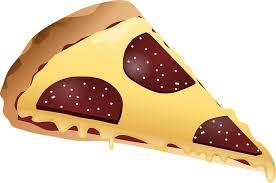 Pizza Slice Cheese Food Italian Salami Sausage