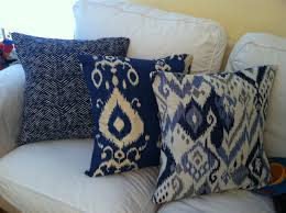 Pottery Barn Blue Pillows Ikea Ektorp Sectional In Risane Natural The Cover Is Removable Backyard Progress The Sunny Side Up Blog Pottery Barn Living Room For A Transitional With Pit Ctham Set Regarding Pearce Sofa 2 Paolo Stripe Blue Smoke Standard Pillow Shams Beige Ethnic Trending Hmong Tribal Indigo Batik Applique Pillows 6th Street Design School Kirsten Krason Interiors House Tour Euro Pillows White Ruffled Decor Enchanting Decorative Covers For Home Accsories Best 25 Lumbar Pillow Ideas On Pinterest Inserts Daybeds Daybed Bolster Slip Cover