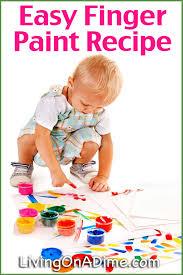 Bathtub Fingerpaint Soap Recipe by Easy Finger Paints Recipe How To Make Finger Paint