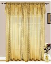 Annas Linens Curtain Panels by Here U0027s A Great Deal On Anna U0027s Linens Flora Sheer Panel With