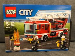 Lego City 60107 Fire Ladder Truck, Toys & Games, Bricks & Figurines ... Lego City Main Fire Station Home To Ba Truck Aerial Pum Flickr Lego 60110 Fire Station Cstruction Toy Uk City Set 60002 Ladder 60107 Jakartanotebookcom Airport Itructions 60061 Truck Stock Photo 35962390 Alamy Walmartcom Trucks And More Youtube Fire Truck Duplo The Toy Store Scania P410 Commissioned Model So Color S 60111 Utility Matnito 3221 Big Amazoncouk Toys Games
