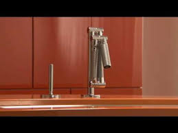 Articulating Deck Mount Kitchen Faucet by Kohler Kitchen Products Articulating Karbon Kitchen Faucet