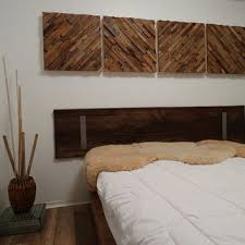 Rustic Decor Teak Wood Wall Art Reclaimed Home