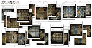 dungeons and dragons tiles master set handcrafted dungeons basic dungeon tiles set 2 outland arts