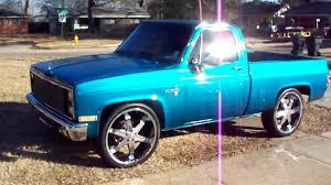 100 86 Chevy Truck Blue 1987 Pickup 1987 Chevrolet K30 Flatbed Pickup Truck