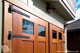Outswing Carriage Garage Doors Modern Shed Seattle by Real
