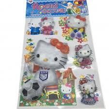 Hello Kitty Room Decor Sticker 5D Print