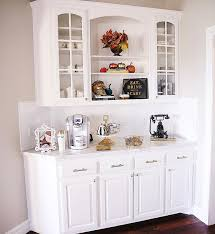Fall Home Decor Emily Ann Gemma White Keurig In Kitchen Interior Design
