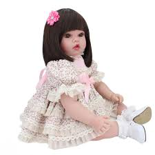 The AshtonDrake Galleries I Teddy Baby Doll With Toy Bear By The