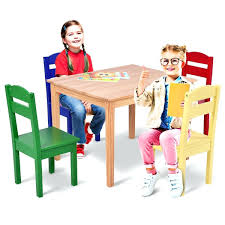 Child Wood Table And Chairs Set – Carpetcleaningchelsea.co