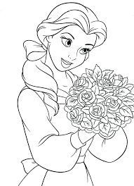 Princess Coloring Pages For Girls Free Large Images Online Printable