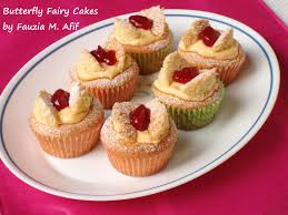 Butterfly Fairy Cakes