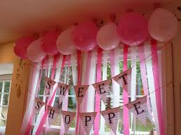 Full Size Of Party Decoration Ideas With Crepe Paper Decor Simplefancyfun 1st Birthday Stellas Pink Literarywondrous