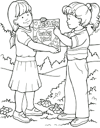 Good News Coloring Page