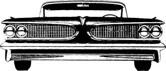 Front Of A Vintage Car Clip Art