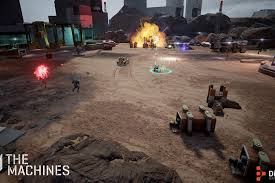 AR petitive multiplayer game The Machines ing to iPhone