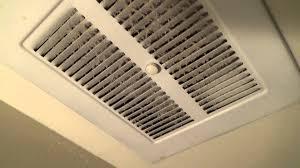 Fasco Bathroom Exhaust Fan Motor by Early 70 U0027s Vintage Nutone Exhaust Fan Youtube