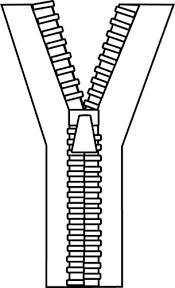 Black and White Zipper Clip Art Black and White Zipper Image