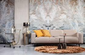 3 sitzer sofa statement bezug beige beine schwarz