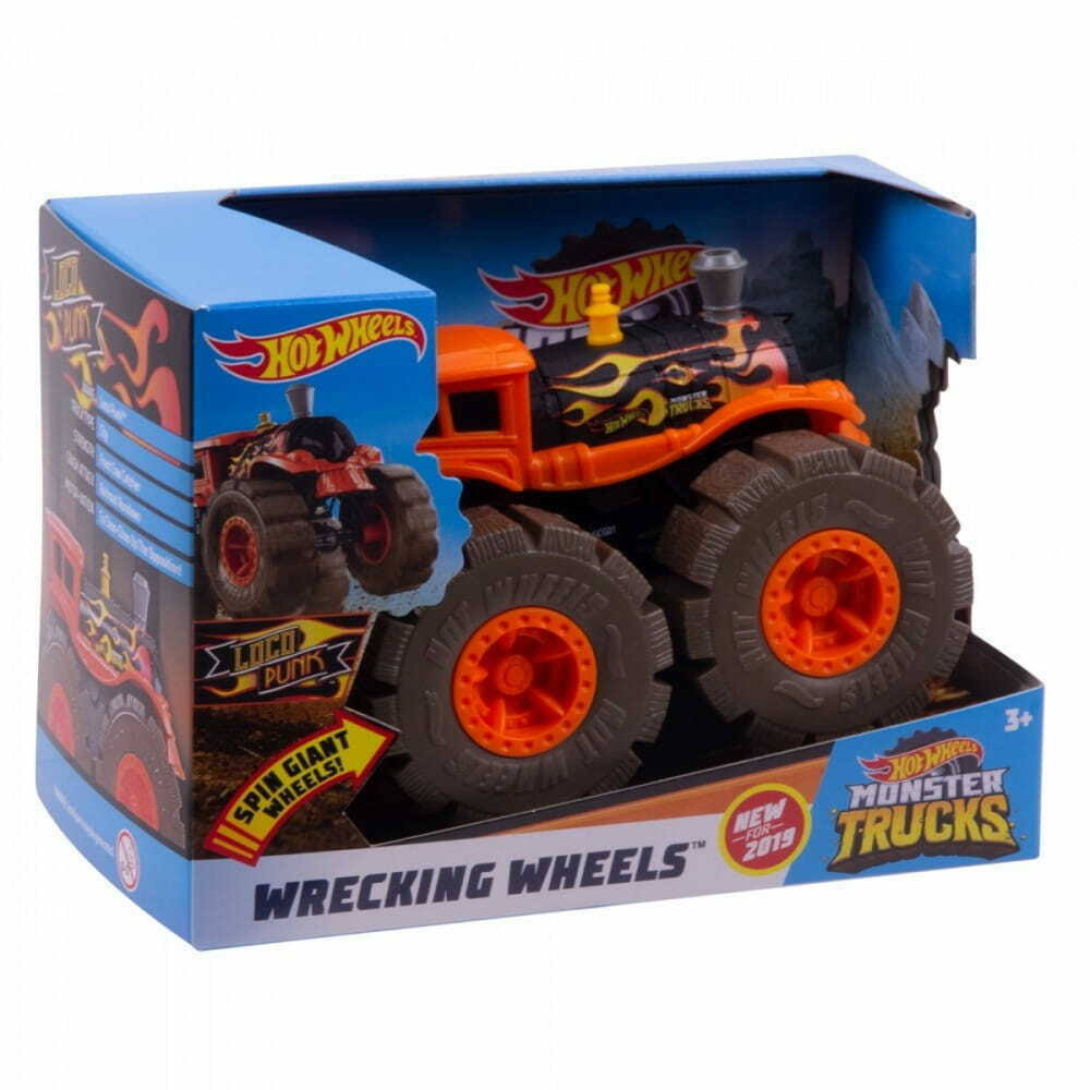 Hot Wheels Rev Tredz Potty Central Monster Truck, 1:43 Scale