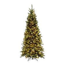 National Tree Company 9 Ft Tiffany Slim Fir Artificial Christmas