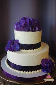 Ideas Collection Purple Wedding Cake Also Round Cakes Of