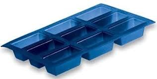 kuchenform backform für 9 mini kuchen 100 silikon 8 cm x 3 cm je form 3 cm hoch