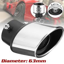 Car Auto Chrome Exhaust Ppipe Grilled Shark Fin Stainless Steel ... Best Chrome Exhaust Tips For Trucks Amazoncom My Truck Rolling Coal 12in Diesel Tip Youtube Patriot Exhaust H7321 Street Rod Megaphone Tip Chrome Pilot Automotive Ex1024 Omega Black Walmartcom Awe Tuning C7 Audi S7 40t Track System Car Auto Ppipe Grilled Shark Fin Stainless Steel Muffler Dual Round Double Wall Forward Slash Cut Tips Assured Company Blog 47784 Monster Single Exit Use With Mustang 212 Turndowns Restoparts Chevelle 196972 Oval Opgicom