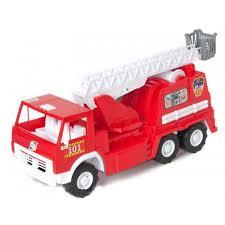 100 26 Truck Kids Fire Truck 53 X X 20 Cm With A Rotating LadderJaba Jaburana