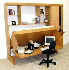Murphy Bed Office Desk Combo by Murphy Bunk Beds Splashy Hideabed Vogue Boston Basement Image