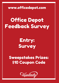 feedback fice Depot Feedback Survey