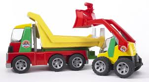 Amazon.com: Bruder Toys Transporter With Skid Steer Loader: Toys ... Cari Harga Bruder Toys Man Tga Crane Truck Diecast Murah Terbaru Jual 2826mack Granite With Light And Sound Mua Sn Phm Man Tga Tow With Cross Country Vehicle T Amazoncom Mack Fitur Dan 3555 Scania Rseries Low Loader Games 2750 Bd1479 Find More Jeep For Sale At Up To 90 Off 3770 Tgs L Mainan Anak Obral 2765 Tip Up Obralco