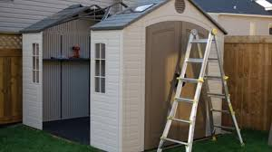 Suncast Sutton 7x7 Shed by Plastic Shed Base Kit What It Contain Youtube