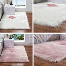 imitation wolle teppich doppel herz flauschig plüsch decke