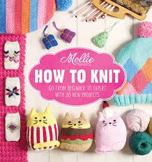Mollie Makes How to Knit craft book feat my xmas ornaments